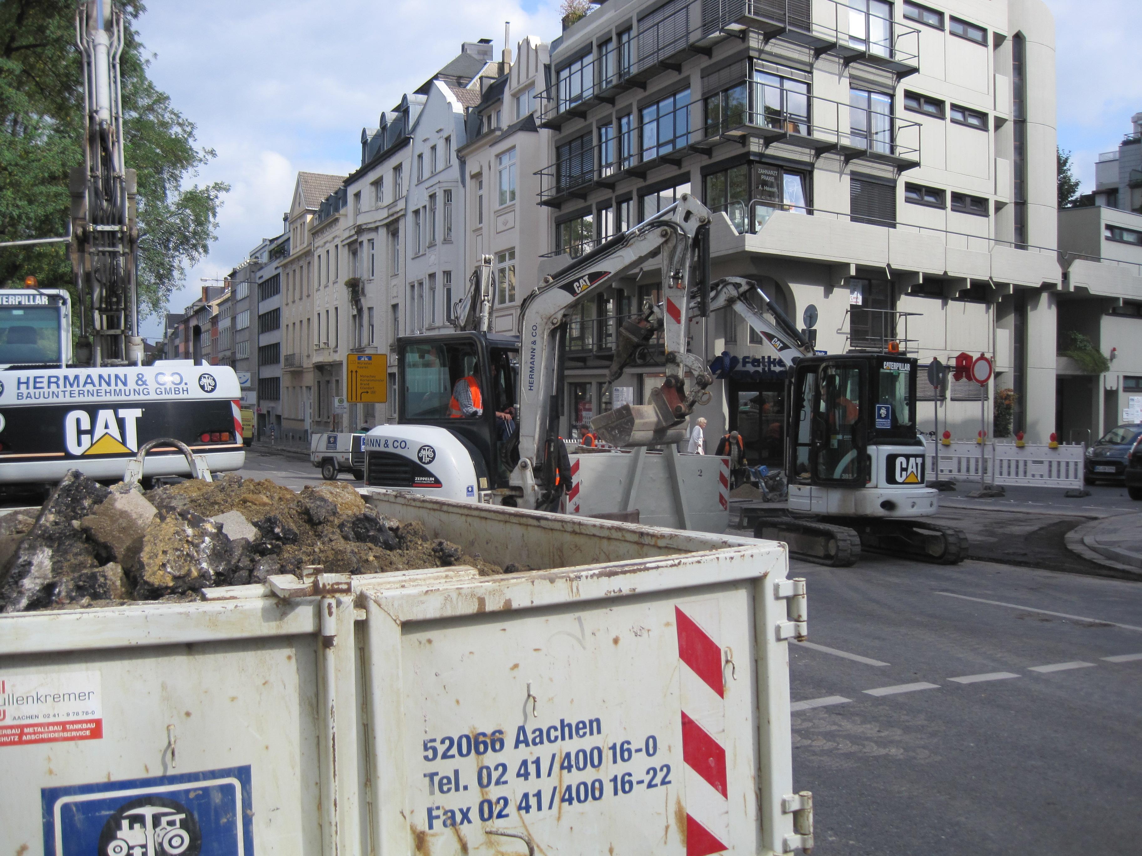 Bauunternehmen Aachen strassenbau tiefbauunternehmen strabenbauunternehmen